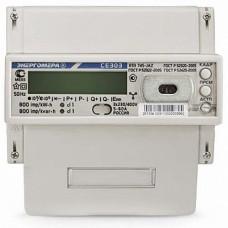 Энергомера Счётчик CE303 R33 745-JАZ 3*230/380В; 5-60А; кт 1,0/1,0; оптопорт, RS485, DIN