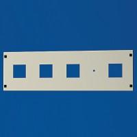 DKC Секционная панель, для модулей, 48 (2x24) модуля, B=400мм, Ш=600мм
