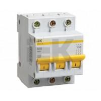 IEK Автоматический выключатель ВА47-29 3Р 5А 4,5кА х-ка D