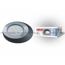 Uniel Fametto Vernissage Светильник LED овал GU5.3 IP20 матовое хром/черный