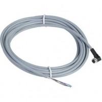 SE Коннектор угловой кабельно-гнездовой XZCPV1041L5