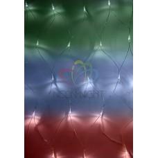"NEON-NIGHT Гирлянда ""Сеть"" 1,5х1,5м, прозрачный ПВХ, 150 LED мультиколор"