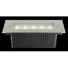 Jazzway Светильник PWS/R S170070 3W 4000K 30° Сhrome IP65 встраиваемый