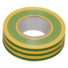IEK Изолента 0,13х15 мм желто-зеленая 10 метров