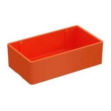 SE Wibe Заглушка торцевая 28J пластик, оранжевая