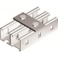 DKC Пластина соединительная длина 90 мм, 2отв., горячеоцинкованная