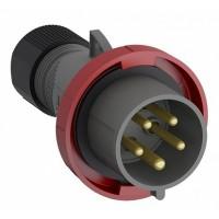 ABB Easy&Safe Вилка кабельная 432EP6W, 32А, 3P+N+E, IP67, 6ч
