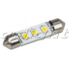 Arlight Автолампа ARL-F37-3E Warm White (10-30V, 3 LED 2835)