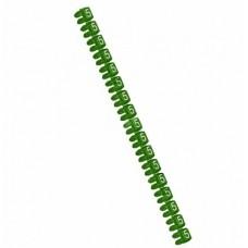 Legrand CAB3 Маркер для кабеля и клемм.блоков 5 0.5-1.5кв.мм. (зеленый) (упаковка)