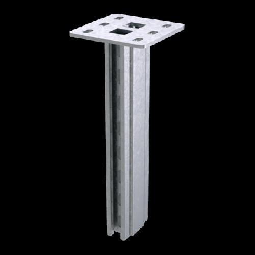 DKC Вертикальный подвес двойной усиленный 92х41, L1000, горячеоцинкованный