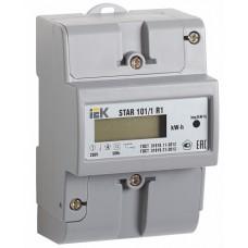 IEK Счетчик эл энергии однофазный STAR 101/1 R1-5(60)Э Ш2