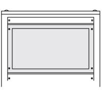 DKC Секционная панель, углублённая, В=400мм, Ш=600мм