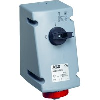 ABB Розетка с выкл. и блокир.32A,3P+N+E,IP67
