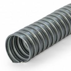Металлорукав D12мм сталь металлик без обшивки 300°C ПРОМРУКАВ