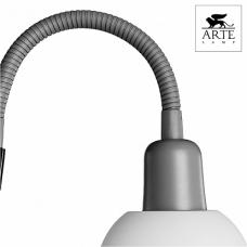 Arte Lamp Duetto Серебро/Белый Торшер 60W/25W E14/E27