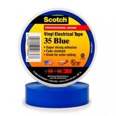 3M Scotch 35 Изоляционная лента высшего класса, 19мм х 20м, синяя