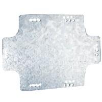 DKC Монтажная пластина из оцинк. стали 340х255х2мм, для коробок380х300мм