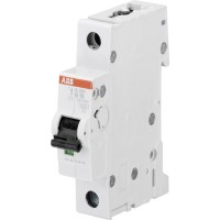 ABB S201 Автоматический выключатель 1P 6A (B) 6kA