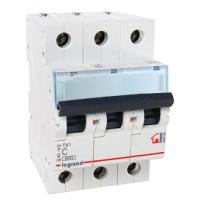 Legrand TX3 Автоматический выключатель 3P 6A (С) 6000