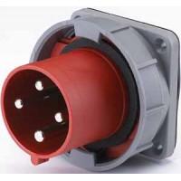 DEKraft ВЩ-102 Вилка для скрытой проводки 634 3Р+РЕ 63А 380В IP67