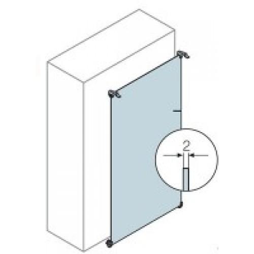 ABB Плата монтажная стальная для шкафа GEMINI (Размер 6)