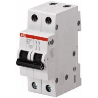 ABB SH202L Автоматический выключатель 2P 6A (B)