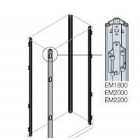 ABB Стойки каркаса шкафа с петлями H=1800мм (4шт)