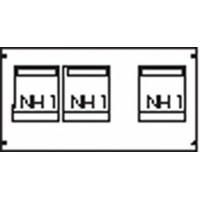 ABB Пластрон для 3 NH1 3ряда/3 рейки