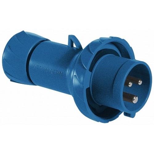 SE PratiKa Вилка кабельная, быстрозажимное соединение, 16А 2P+E IP67 220В