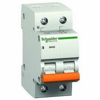 SE Домовой ВА63 Автоматический выключатель 1P+N 50A (C) 4.5kA