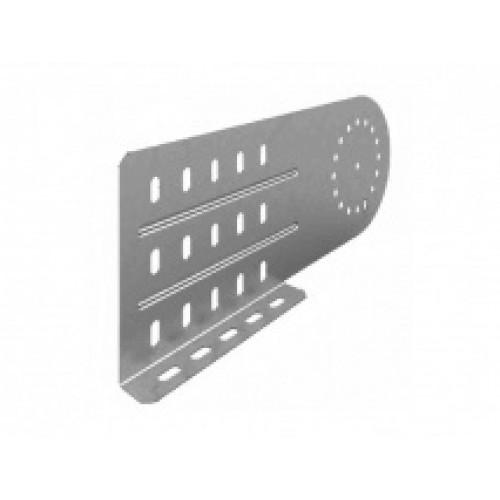 OSTEC Соединитель универсальный шарнирный для лотка УЛ высотой 150/200 мм (1,5 мм) (1 компл = 2 шт)