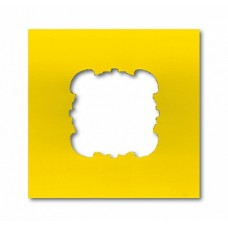 ABB BJE Накладка перфорированная 45мм, цвет желтый