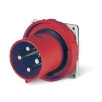 DKC Вилка панельная прямая IP67 63А 3P+E 400В