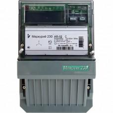 Меркурий Электросчетчик 230 AR-03 R 3Ф 1 тарифн. 5-7,5А, 3*230/400В (к.т.0,5/1,0, RS-485, ЖКИ)