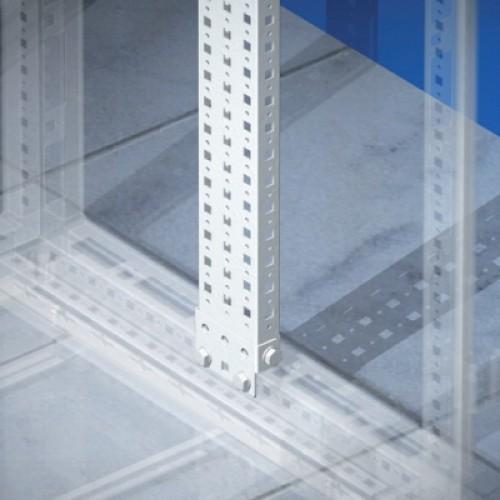 DKC Рейки вертикальные, широкая, для шкафов CQE В=2000мм, (упак=2шт.)