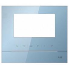 ABB Рамка для абонентского устройства 4,3, голубой