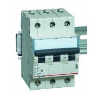 Legrand TX3 Автоматический выключатель 3P 10A (С) 6000/10kA