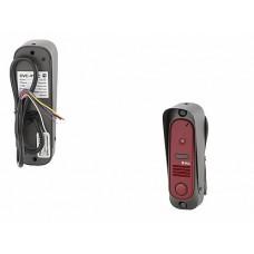 DVC В/П 800 твл (CMOS), узкая, вертик., накладн. монтаж, компл: уголок, козырек, темно-красный