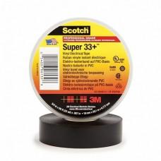 3M Scotch Super 33+ Изоляционная лента высшего класса, 19мм х 20м