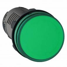 SE Сигнальная лампа, LED, зеленая 24В