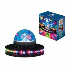 Volpe Черный Светодиодный светильник-проектор, многоцветный, 220В