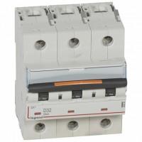 Legrand DX3 Автоматический выключатель 3P 32А (D) 25кА