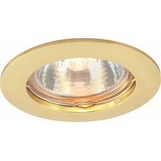 Arte Lamp Basic Золото Светильник точечный встаиваемый 1x50W 1xGU10
