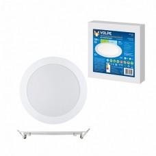 Volpe Светильник LED круглый 12W 4500К белый 960lm d170mm