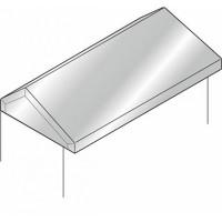 ABB Крыша антидождевая нерж.ст.600х500мм,ISX (TP8040X)