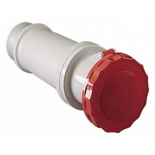 SE PratiKa Розека кабельная, винтовой зажим, 63А 3P+N+E IP67 380В