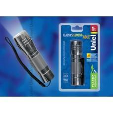 Uniel Стандарт «Classics element + max » Серебро Фонарь LED алюминиевый корпус, 1 Watt