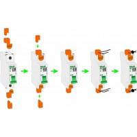 DEKraft ВА-103 Заглушки клеммные пломбируемые (компл.=2шт.)