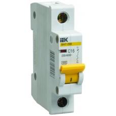IEK Автоматический выключатель ВА47-29М 1P 20A 4,5кА (D)