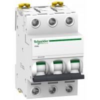 SE Acti 9 iC60L Автоматический выключатель 3P 6A (Z)